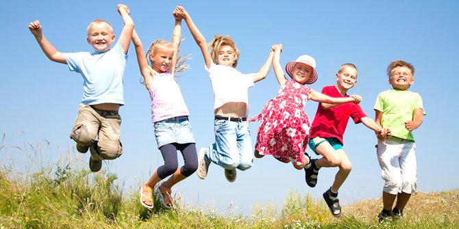Menjaga Kesehatan Anak Aktif